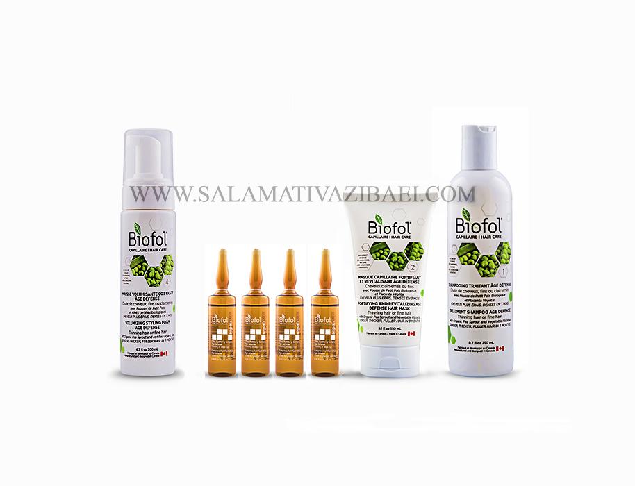محصولات درمانی قطع ریزش مو